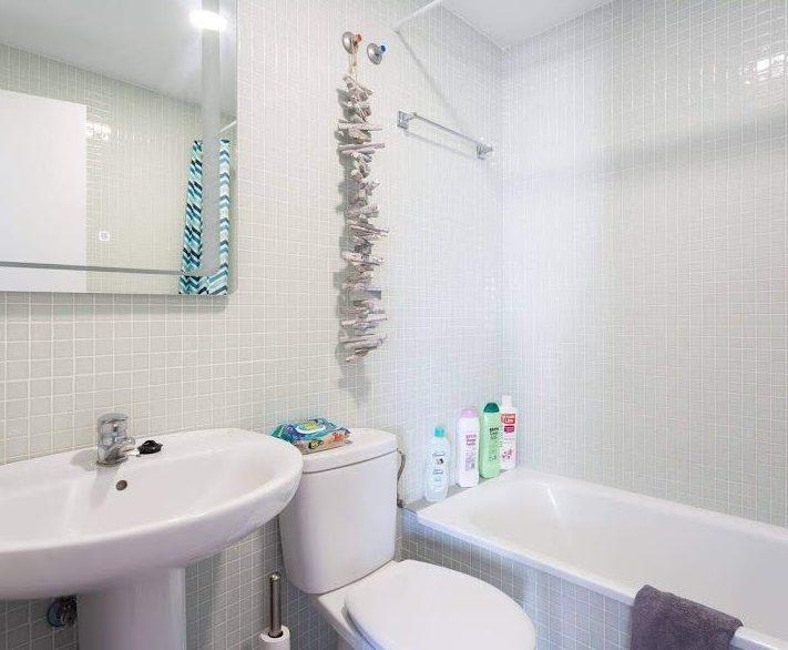 lavabos dos apartamentos duplex el medano